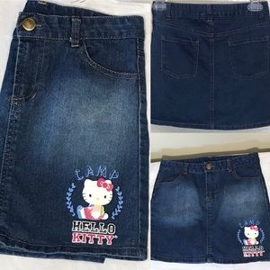 Girls Hello Kitty skirt Jean